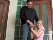 Horny Russian Girl Fucked By Older Man
