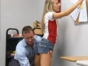 Hot Girl Abused by her Professor
